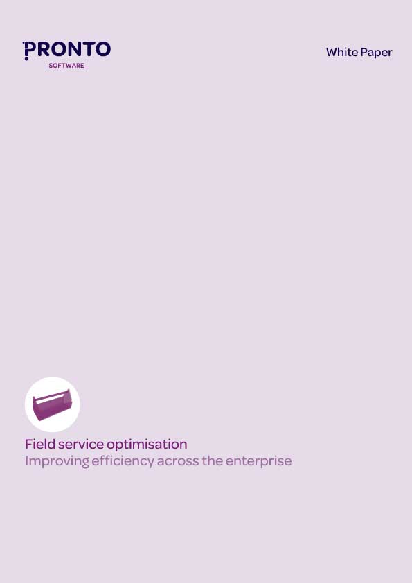 Field Service Optimisation White Paper