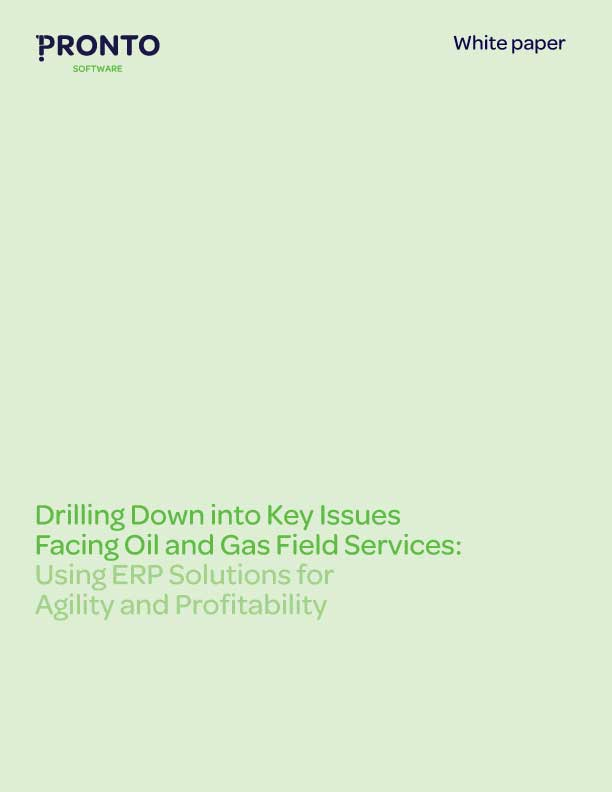 Drilling down into key issues facing Oil and Gas Field Services